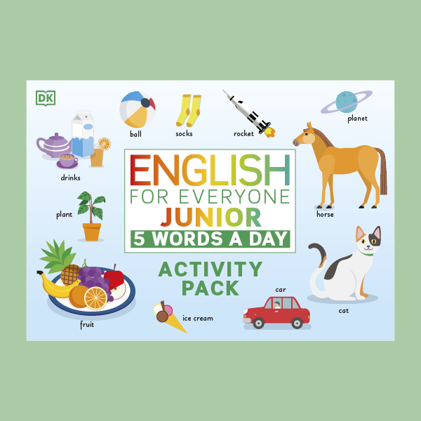 English for Everyone Junior: 5 Words a Day Activity Pack pdf