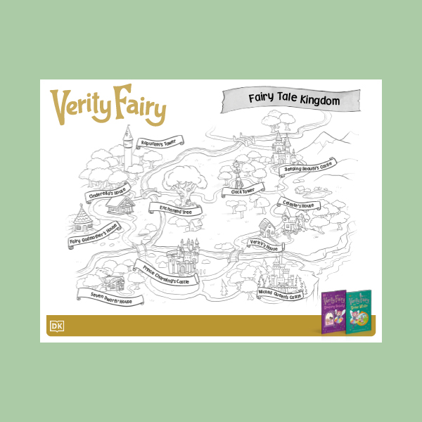 Verity Fairy Coloring Sheets pdf