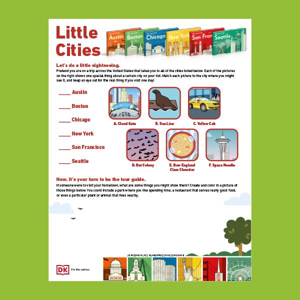 Little Cities Activity Sheet