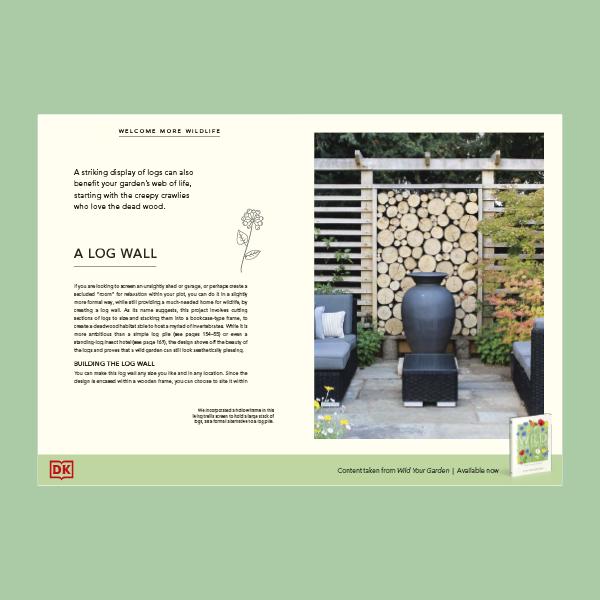 Make a Log Wall pdf