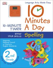 10 Minutes a Day: Spelling, Second Grade