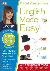 English Made Easy Rhyming Ages 3-5 Preschool Key Stage 0