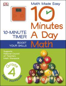 10 Minutes a Day: Math, Fourth Grade