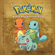 Pokémon Kanto Region Field Guide