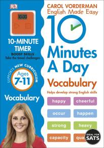 10 Minutes a Day Vocabulary Ages 7-11 Key Stage 2