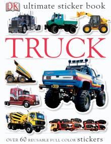 Ultimate Sticker Book: Truck