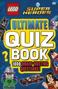 LEGO DC Comics Super Heroes Ultimate Quiz Book
