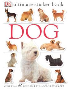 Ultimate Sticker Book: Dog