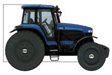 WHEELIE BOOKS: Farm Tractor