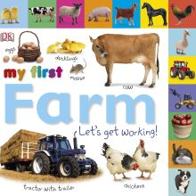 Tabbed Board Books: My First Farm