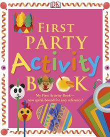 First Party Activity Book