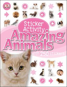 Amazing Animals Sticker Activity