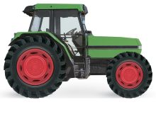 Wheelie Books: Tractor