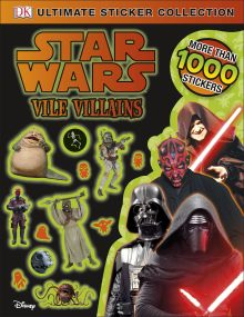 Star Wars Vile Villains Ultimate Sticker Collection