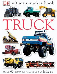 Ultimate Sticker Book: Truck