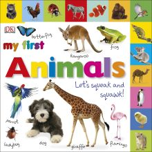 Tabbed Board Books: My First Animals