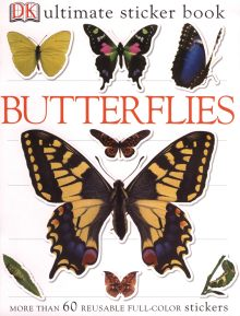 Ultimate Sticker Book: Butterflies