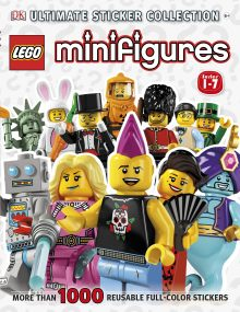 Ultimate Sticker Collection: LEGO® Minifigures (Series 1-7)