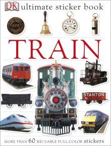 Ultimate Sticker Book: Train