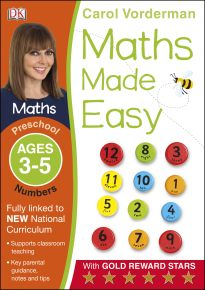 Maths Made Easy Numbers Ages 3-5 Preschool Key Stage 0