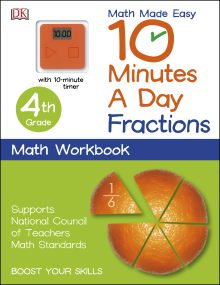10 Minutes a Day: Fractions, Fourth Grade