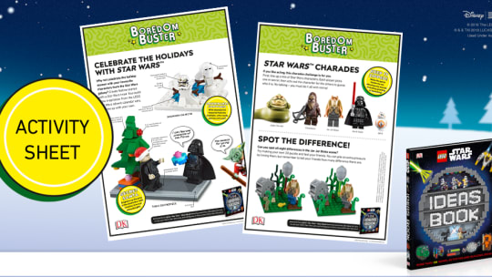 Activity Sheet Downloads: LEGO® Star Wars™ Ideas Book