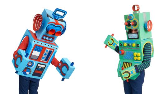 How to Make Box Robots: Kids' Cardboard Box Craft Project
