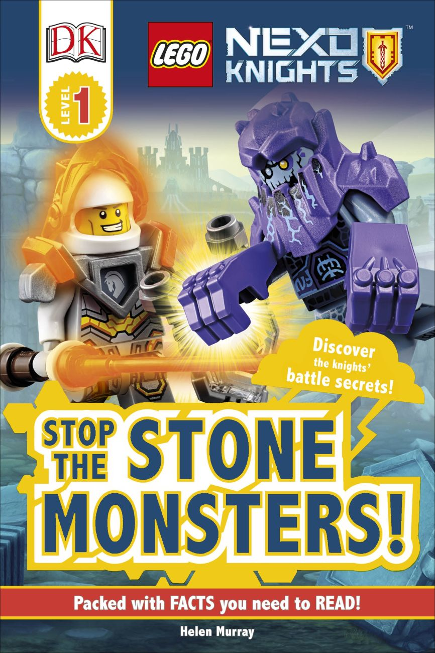 lego® nexo knights stop the monsters  dk uk