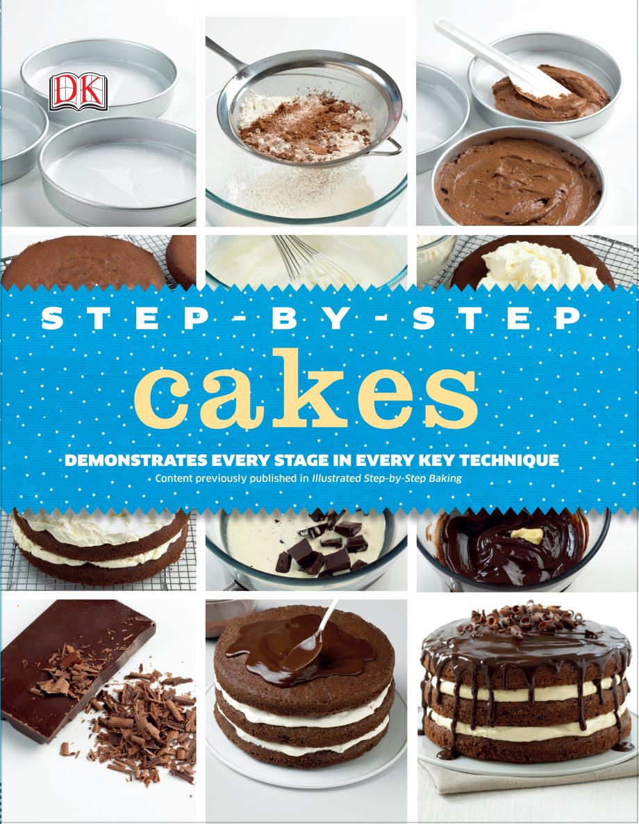 step by step cake decorating dk