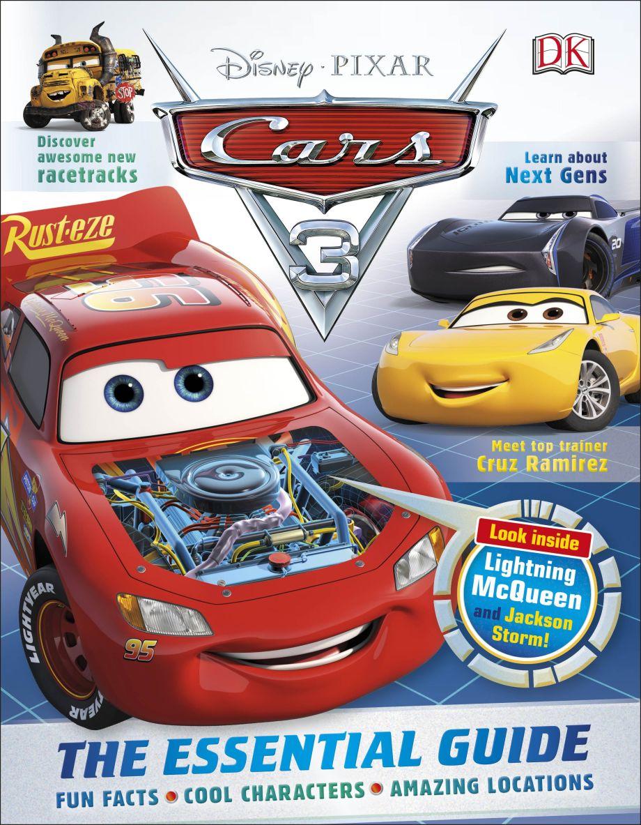 Disney Pixar Cars 3 The Essential Guide Dk Uk