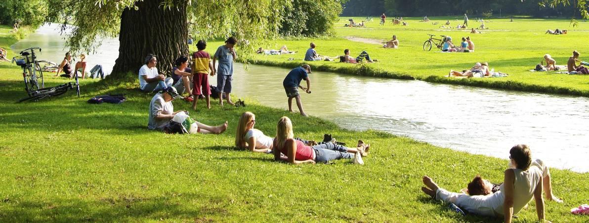Englischer Garten   Munich   Dk Eyewitness Travel
