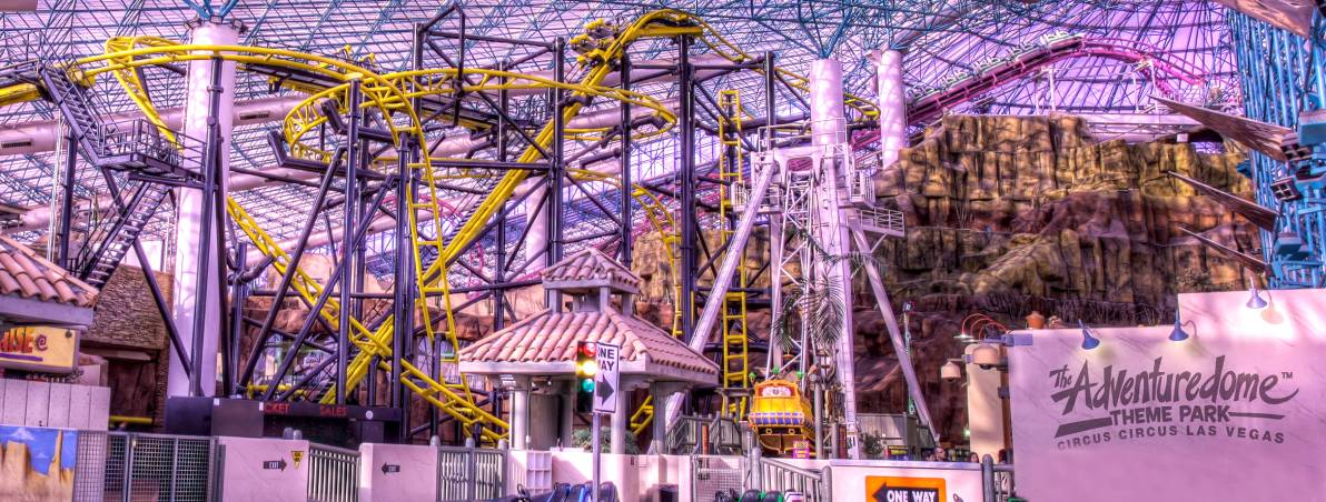 Overall, I am usually pleasantly surprised at the cleanliness and value found at the Circus Circus Adventuredome. Even if your kids are older and over 48 inches tall, a family of four will spend about $ dollars for hours and hours of unlimited rides, all in .