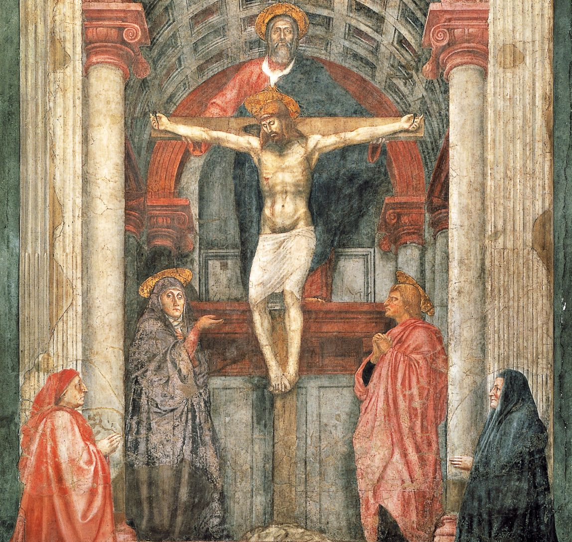 the art of christ and virgin mary in the holy trinity by masaccio Masaccio, the holy trinity (including christ, god, the virgin mary by using classical architecture in the holy trinity, masaccio was able to.