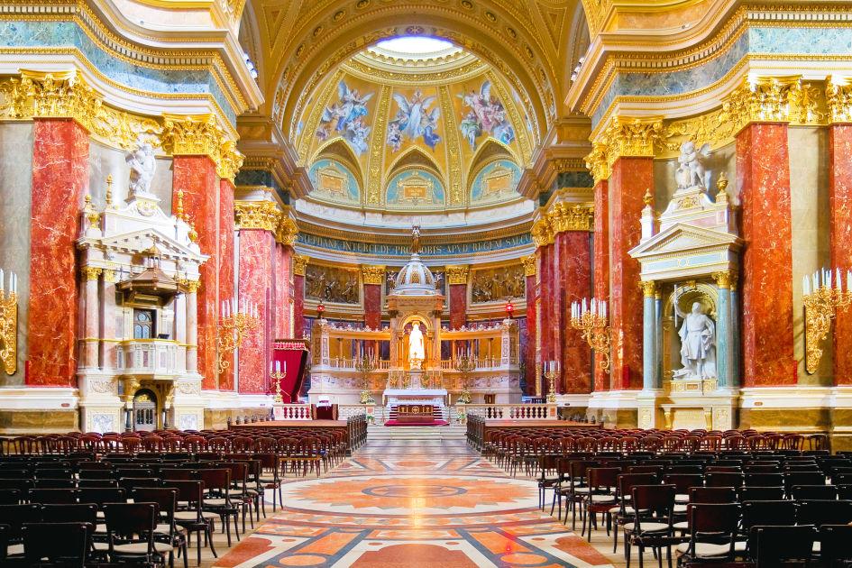 St Stephens Basilica on Basilica Floor Plan