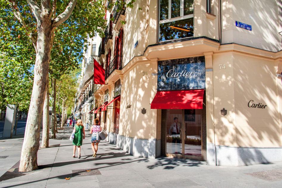 Calle de serrano madrid dk eyewitness travel - Calle serrano 55 madrid ...
