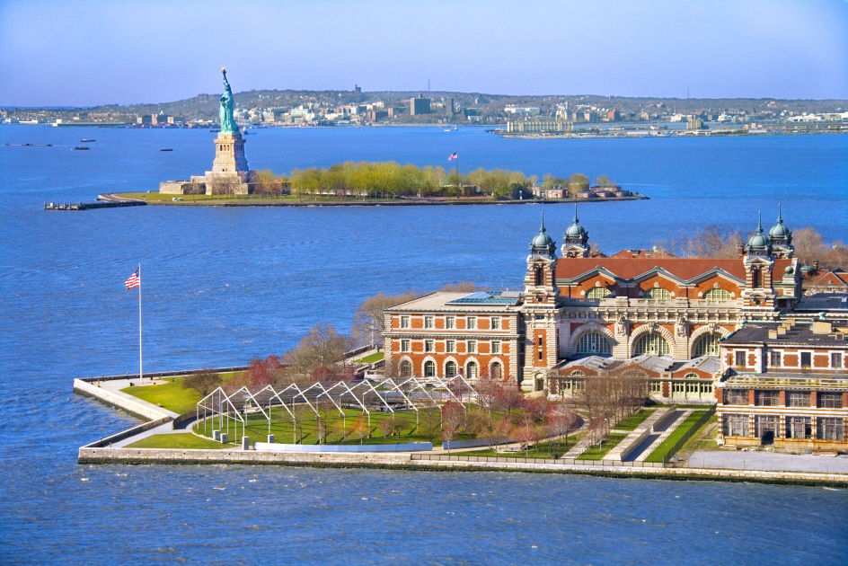 Island For Immigrants In New York