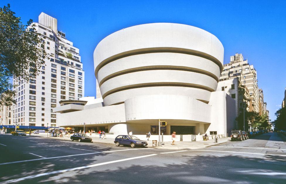 Guggenheim Museum New York Designed By Frank Lloyd Wright
