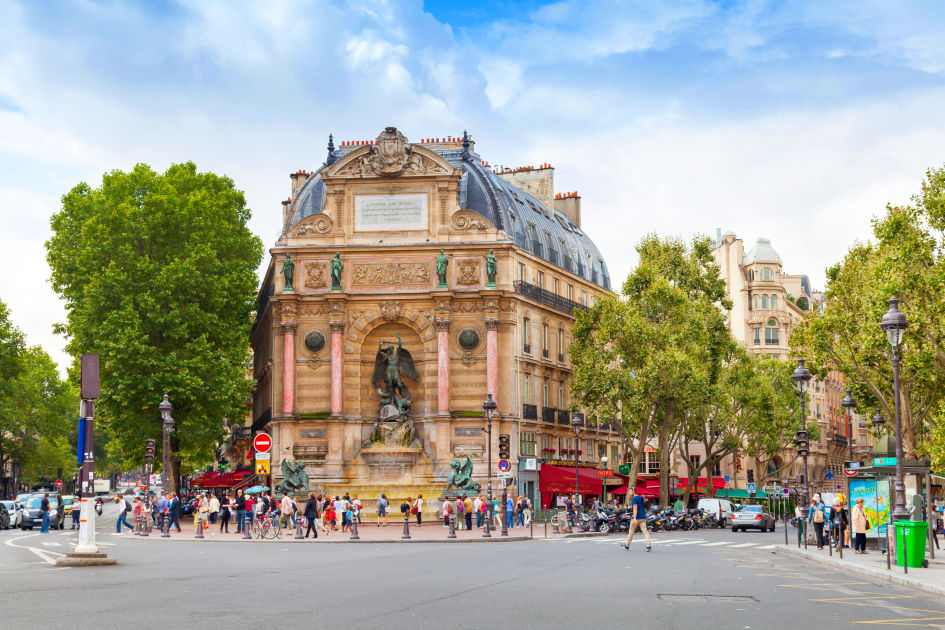 Boulevard st michel paris dk eyewitness travel - Metro saint michel paris ...