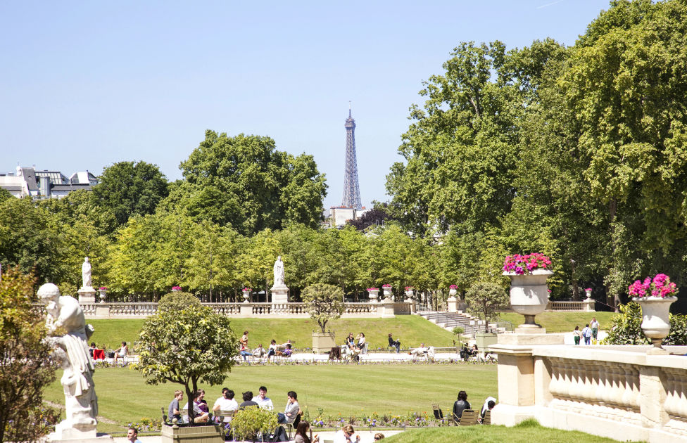 Jardin du luxembourg paris dk eyewitness travel for Cafe jardin du luxembourg