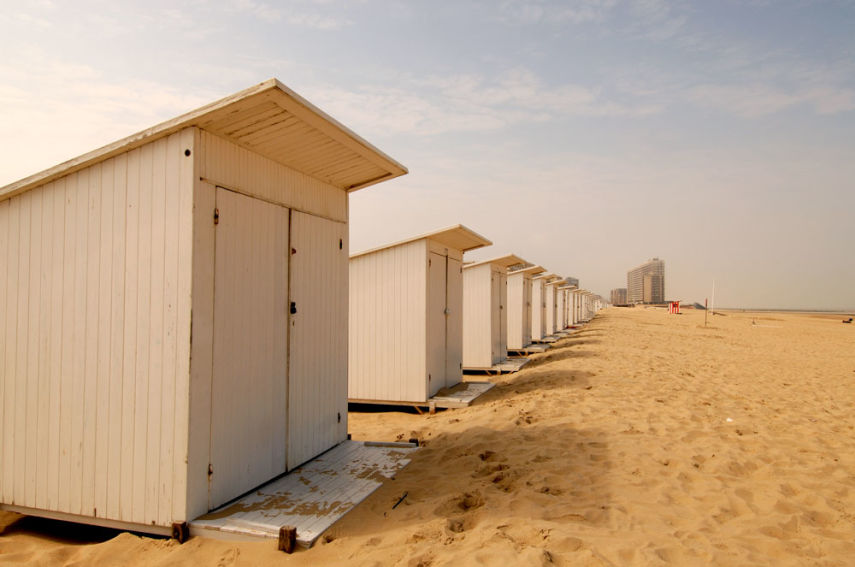 Oostende (Ostend) beach huts