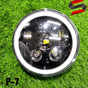 110 watt projector headlight for royal Enfield motorcycle bike