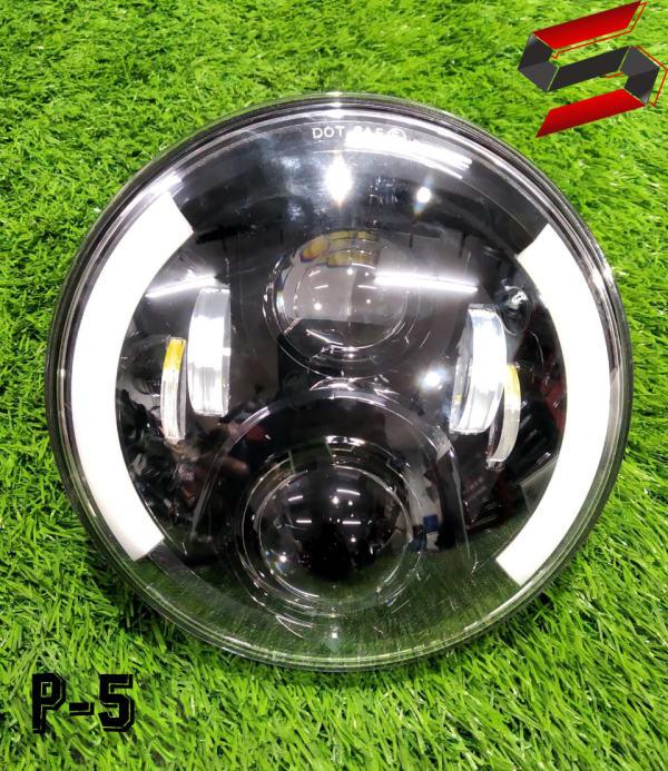 110 watt projector headlight for royal Enfield motorcycle bike