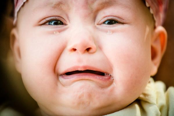 เด็กร้องไห้
