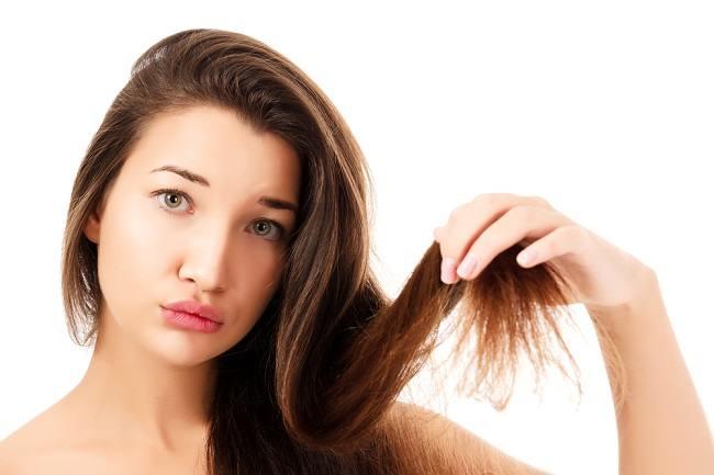 Treating dry hair