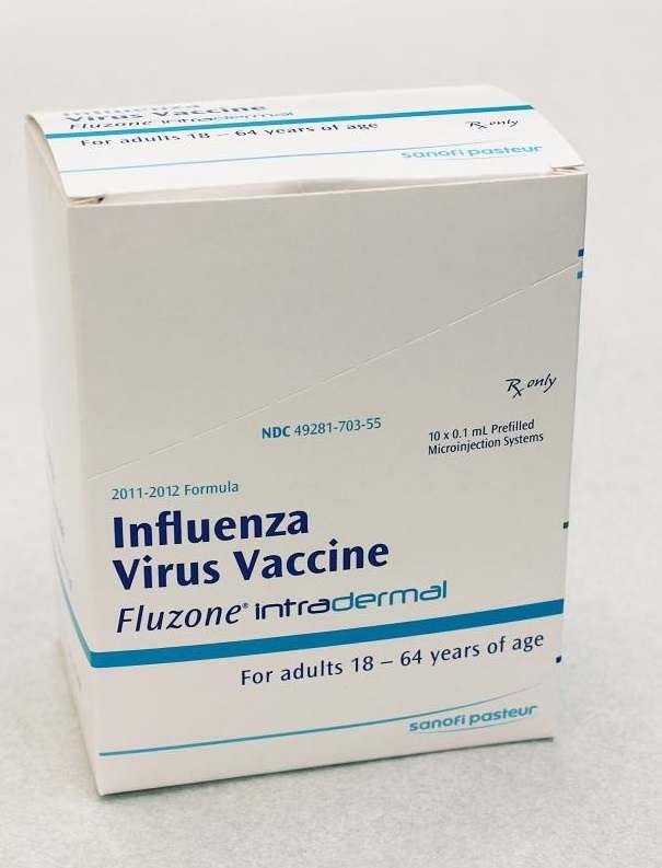 Vaksin influenza. Sumber: D Jordan, PHIL CDC, 2011.