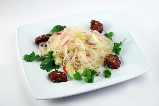 Shirataki with beef