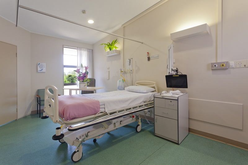 hospital isolation room