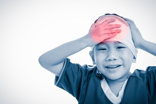head trauma in children