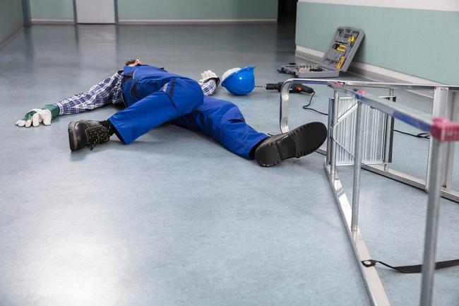 Handyman Fallen From Ladder