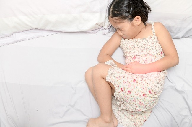 child stomachache